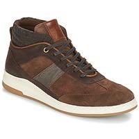 Sapatos Homem Sapatilhas de cano-alto André GLASGOW Castanho