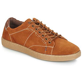 Sapatos Homem Sapatilhas André LENNO Castanho