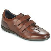 Sapatos Homem Sapatilhas André FACILE Castanho
