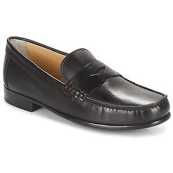 Sapatos Homem Mocassins André BUREAU Preto