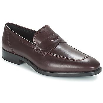 Sapatos Homem Mocassins André MOC Bordô