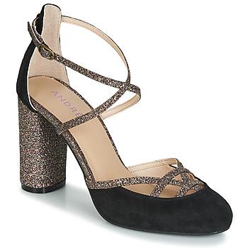 Sapatos Mulher Escarpim André PUMPY Preto