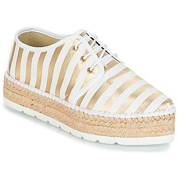 Sapatos Mulher Alpargatas André ZEBRE Branco