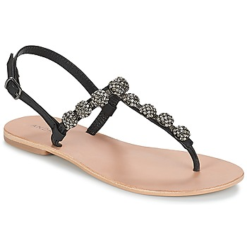 Sapatos Mulher Chinelos André LAHORI Preto