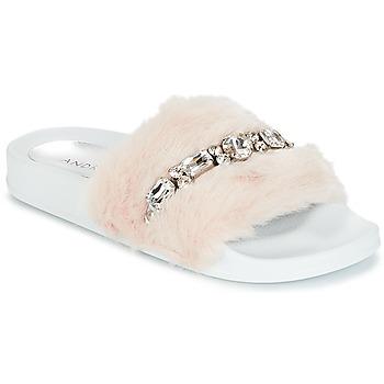 Sapatos Mulher chinelos André DIADEME Branco