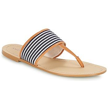 Sapatos Mulher Chinelos André JERSEY Azul
