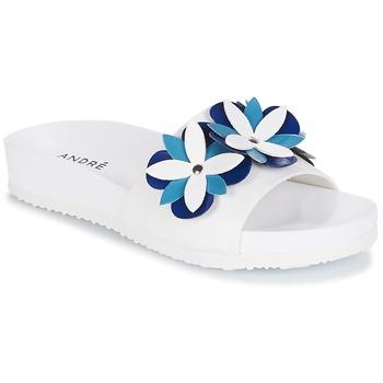 Sapatos Mulher Chinelos André GARDENIA Azul