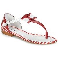 Sapatos Mulher Sandálias André DORINE Vermelho
