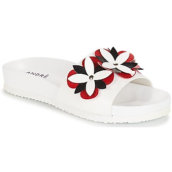 Sapatos Mulher chinelos André GARDENIA Branco