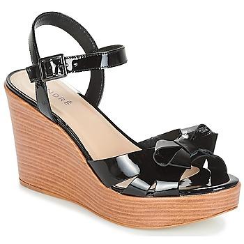 Sapatos Mulher Sandálias André DOME Preto