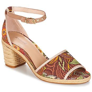 Sapatos Mulher Sandálias André JAKARTA Multicolor