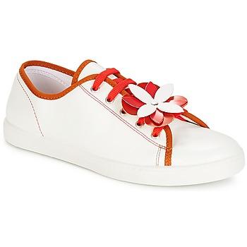Sapatos Mulher Sapatilhas André GUIMAUVE Vermelho