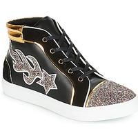 Sapatos Mulher Sapatilhas de cano-alto André LOTUS Preto