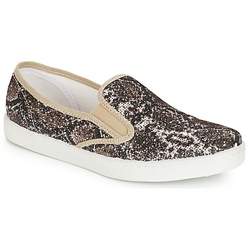 Sapatos Mulher Slip on André SAUVAGE Bege