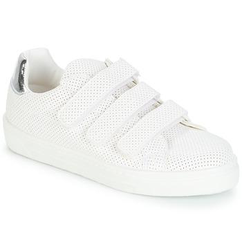 Sapatos Mulher Sapatilhas André CARLINE Branco