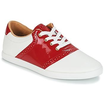 Sapatos Mulher Sapatilhas André LIZZIE Vermelho