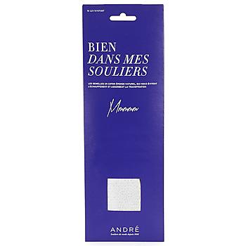 Acessórios Acessórios para calçado André SEMELLE EPONGE Branco