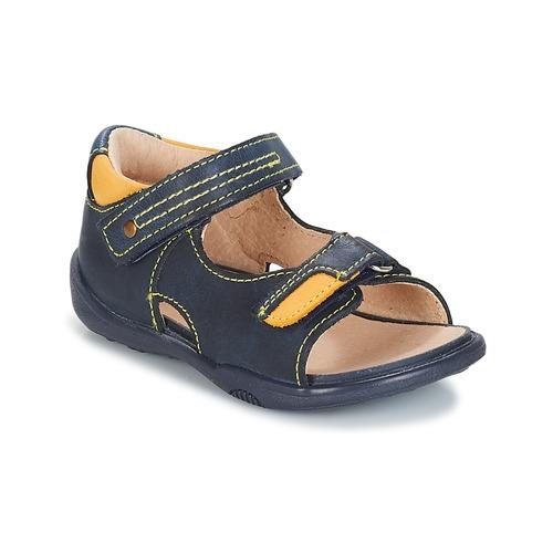 Sapatos Rapaz Sandálias André VOYAGE Marinho