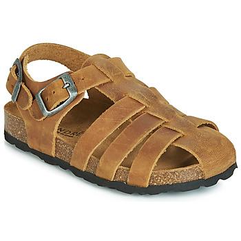Sapatos Rapaz Sandálias André TOTEM Camel
