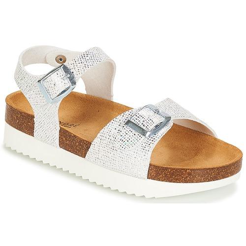 Sapatos Rapariga Sandálias André LAURE Prateado