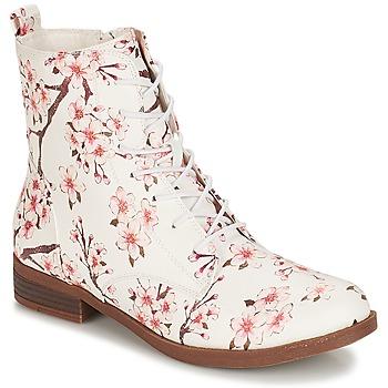 Sapatos Mulher Botas baixas André PILAT Branco
