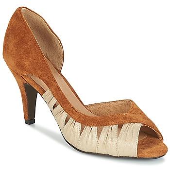 Sapatos Mulher Escarpim André PUNGI Camel