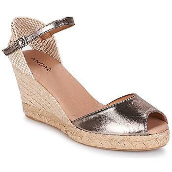 Sapatos Mulher Alpargatas André CADIX Dourado