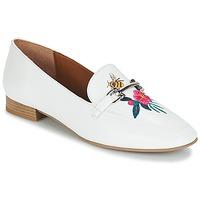 Sapatos Mulher Mocassins André HENSON Branco