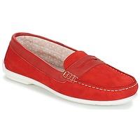 Sapatos Mulher Mocassins André FRIOULA Vermelho