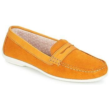 Sapatos Mulher Mocassins André FRIOULA Amarelo