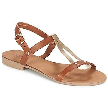Sapatos Mulher Sandálias André TOUFOU Camel
