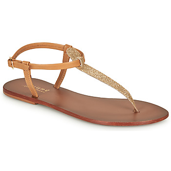 Sapatos Mulher Sandálias André GLITTER Camel