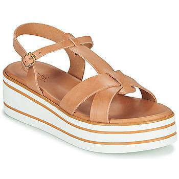 Sapatos Mulher Sandálias André LUANA Camel