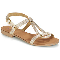 Sapatos Mulher Sandálias André TOUFOU Dourado