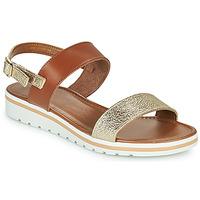 Sapatos Mulher Sandálias André ZANDORA Dourado