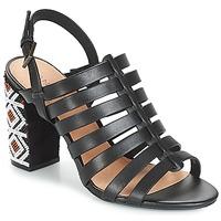 Sapatos Mulher Sandálias André DJEMBE Preto
