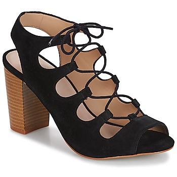 Sapatos Mulher Sandálias André LAETITIA Preto