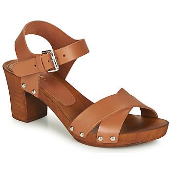Sapatos Mulher Sandálias André BONGO Castanho
