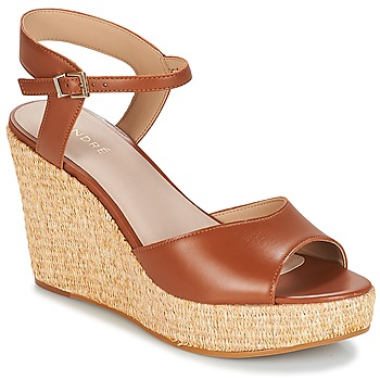 Sapatos Mulher Sandálias André BUNGALOW Conhaque