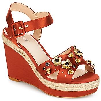 Sapatos Mulher Sandálias André IXIA Laranja