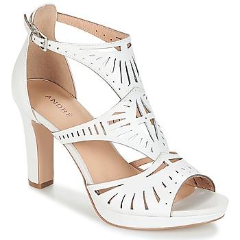 Sapatos Mulher Sandálias André TINA Branco