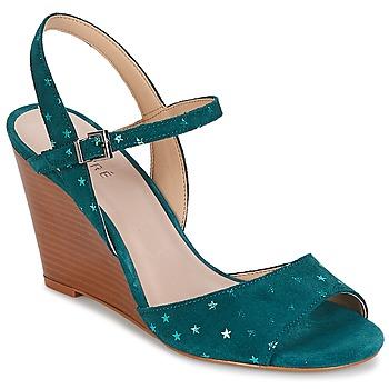 Sapatos Mulher Sandálias André BECKY Turquesa