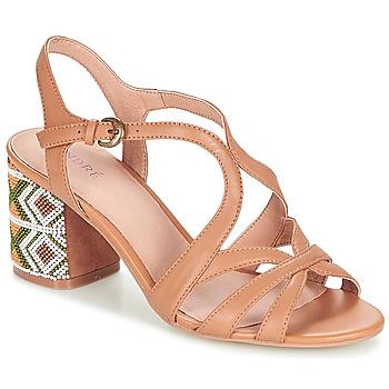 Sapatos Mulher Sandálias André SAMBA Camel
