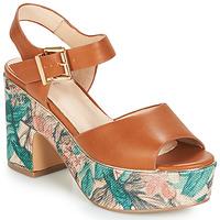 Sapatos Mulher Sandálias André ALTO Camel