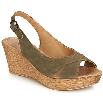 Sapatos Mulher Sandálias André DESTINY Cáqui