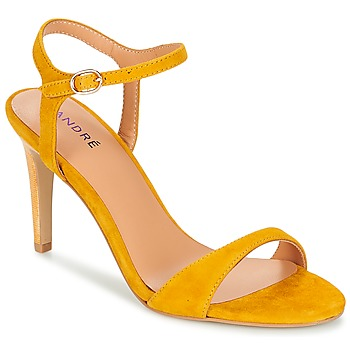 Sapatos Mulher Sandálias André SAXO Amarelo