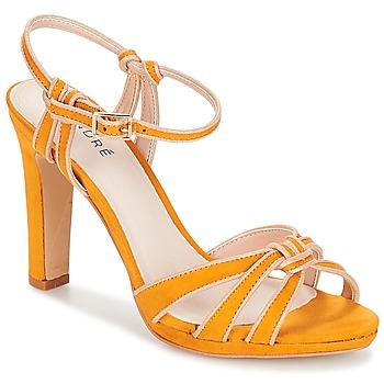 Sapatos Mulher Sandálias André ARPEGE Amarelo
