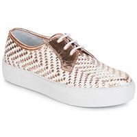 Sapatos Mulher Sapatilhas André NAT Dourado