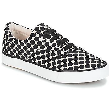 Sapatos Mulher Sapatilhas André FUSION Polka dot / Preto