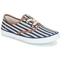 Sapatos Mulher Sapatilhas André MELON Azul